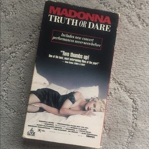 Other - VHS | Madonna: Truth or Dare